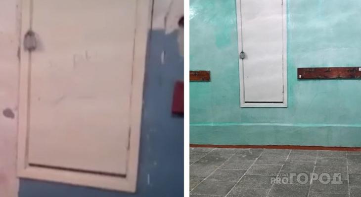 В Дзержинске отремонтировали раздевалку в школе №4