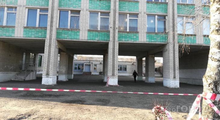Уроков не будет: в Дзержинске закрыли школу с образовавшимися в ней трещинами