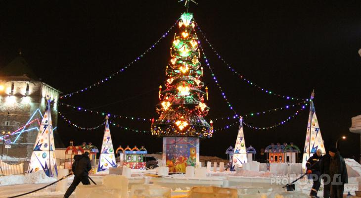 Опубликован план новогодних празднований на 2019 - 2020 год в Дзержинске