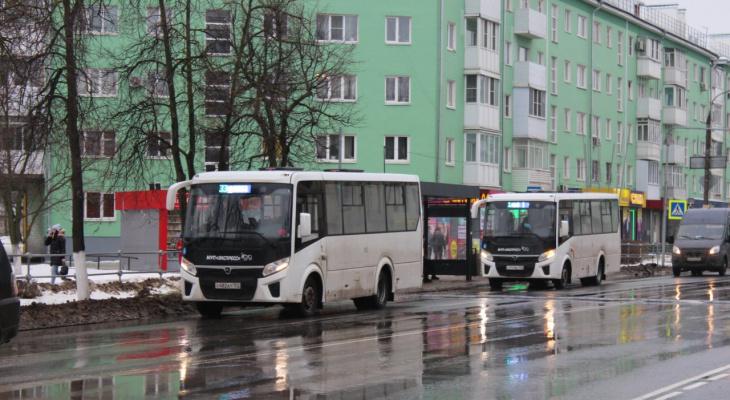 Новые автобусы начали курсировать по местным маршрутам Дзержинска