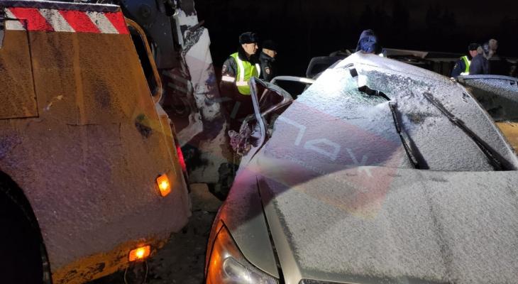Три человека погибли на трассе возле Дзержинска