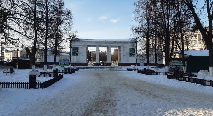 Городской парк Дзержинска будет закрыт для посетителей