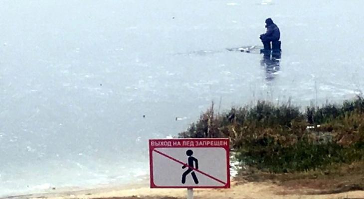 В Нижегородской области участились случаи провалов под лед