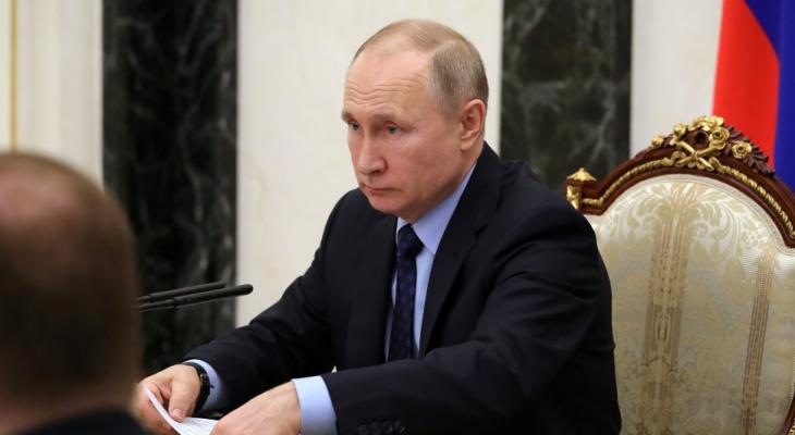 Путин объявил, что неделя с 30 марта для жителей Дзержинска будет нерабочей