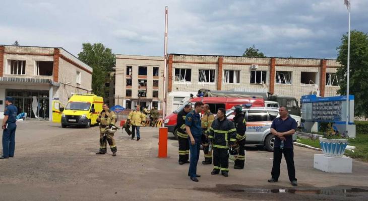 Ликвидаторы взрывов на заводе «Кристалл» в Дзержинске получили медали