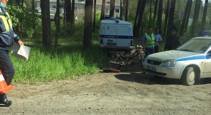 16-летний мотоциклист погиб в ДТП в Володарском районе ночью 29 мая
