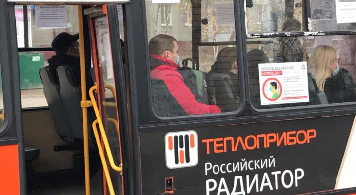 В Дзержинске продолжаются проверки соблюдения масочного режима