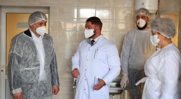 Впервые за 25 лет в больнице Дзержинска сделали ремонт (фото)
