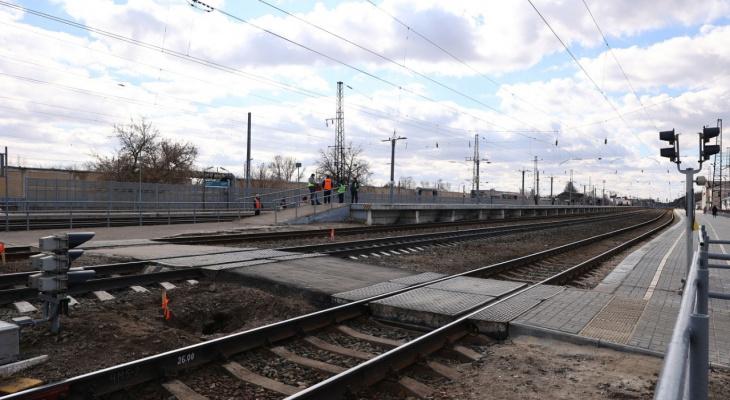 На железнодорожной станции Дзержинск перекроют пешеходный переход