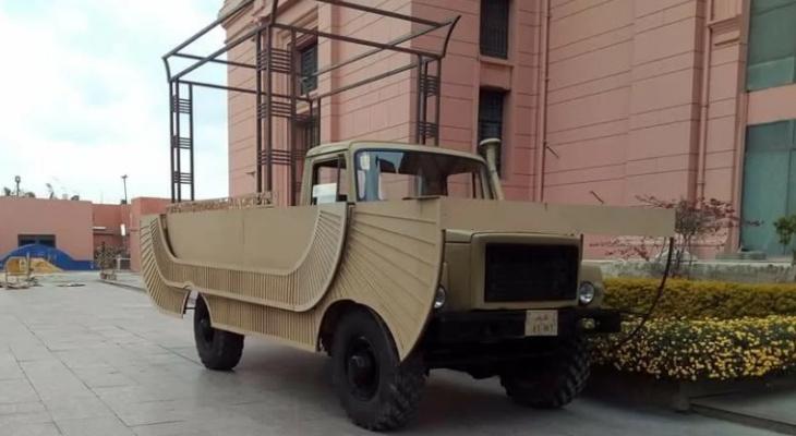 """Нижегородские грузовики использовали для """"Парада фараонов"""" в Египте"""