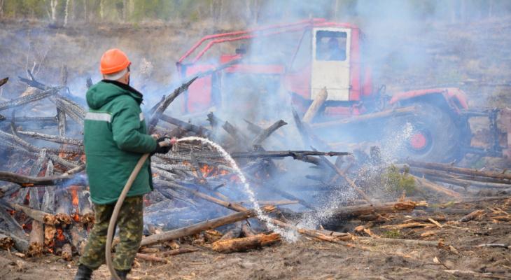 В Дзержинске провели проверку готовности команд лесопожарной станции