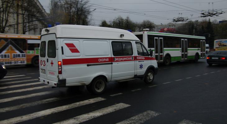 Машинист получил серьезные травмы в Володарском районе