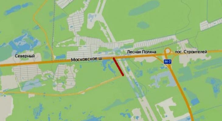 Участок дороги от трассы М-7 «Волга» к промышленному парку «Дзержинск - Восточный» будет отремонтирован в 2021 году