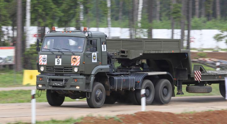 Военная колонна будет ездить по дорогам Нижегородской области