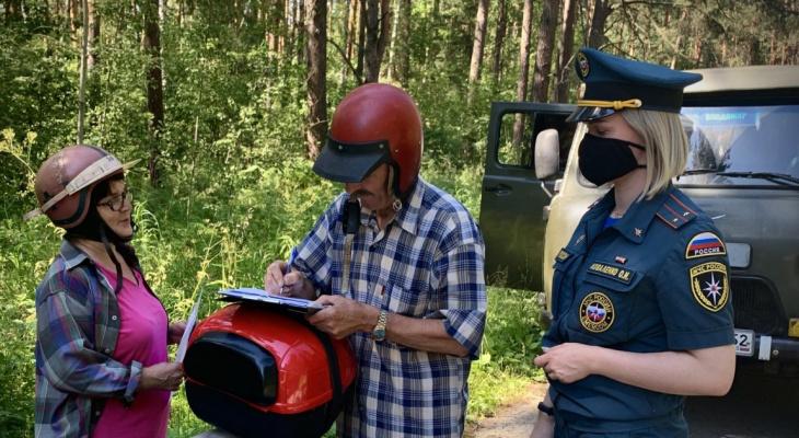 Запрет на посещение лесов во всех районах введен в Нижегородской области