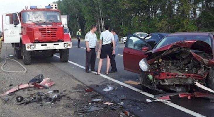 Один человек погиб и пятеро пострадали в аварии Нижегородской области