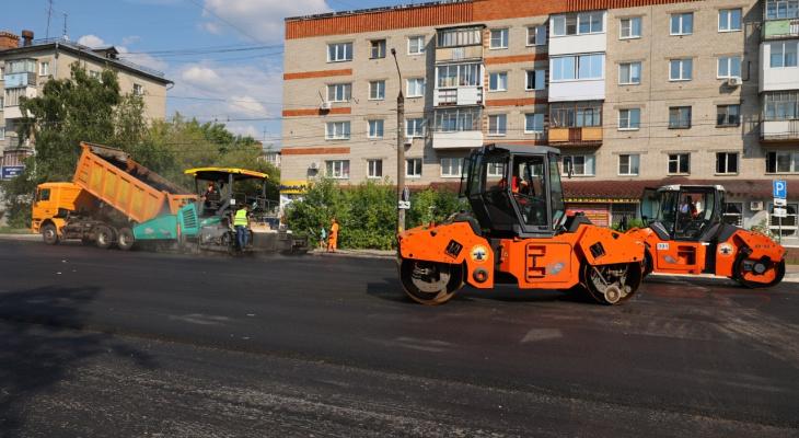 Ремонт дорог проверили глава города и заместитель председателя Думы города Дзержинска